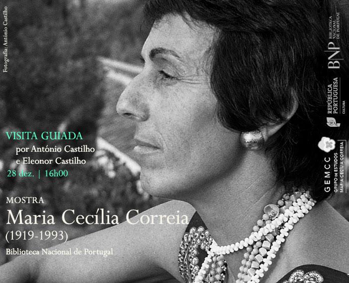 Visita guiada | Maria Cecília Correia (1919-1993) | 28 dez. | 16h00 | BNP