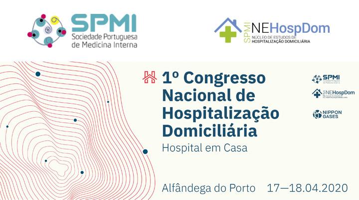 I Congresso Nacional de Hospitalização Domiciliária - Inscrições Abertas