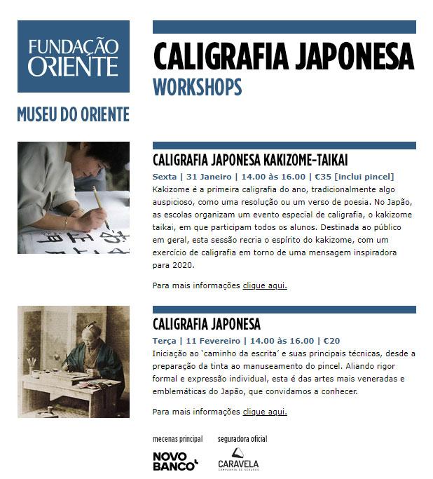 WORKSHOPS | CALIGRAFIA JAPONESA