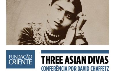 CONFERÊNCIA + VISITA | THREE ASIAN DIVAS | GRATUITO