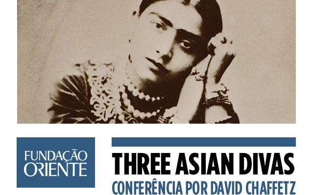 CONFERÊNCIA + VISITA   THREE ASIAN DIVAS   GRATUITO