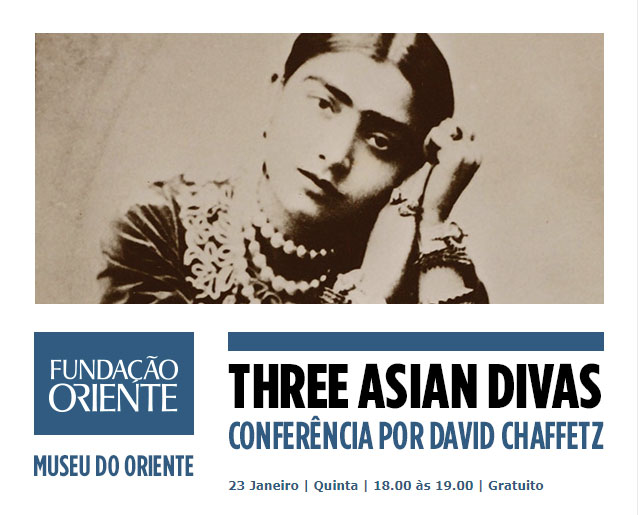 CONFERÊNCIA + VISITA | THREE ASIAN DIVAS | GRATUITO
