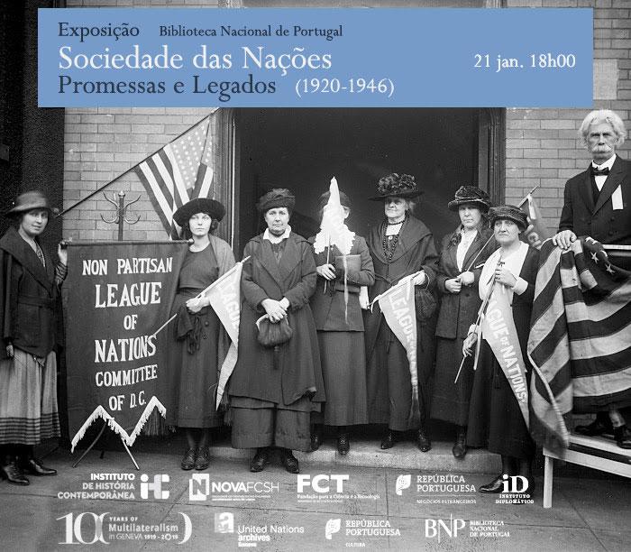 Exposição | Sociedade das Nações (1920-1946): promessas e legados | 21 jan. | 18h00 | BNP