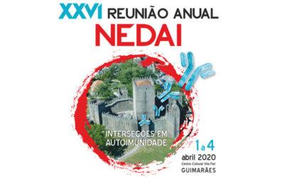 XXVI Reunião Anual do NEDAI 2020 – Resumos até 18 Janeiro