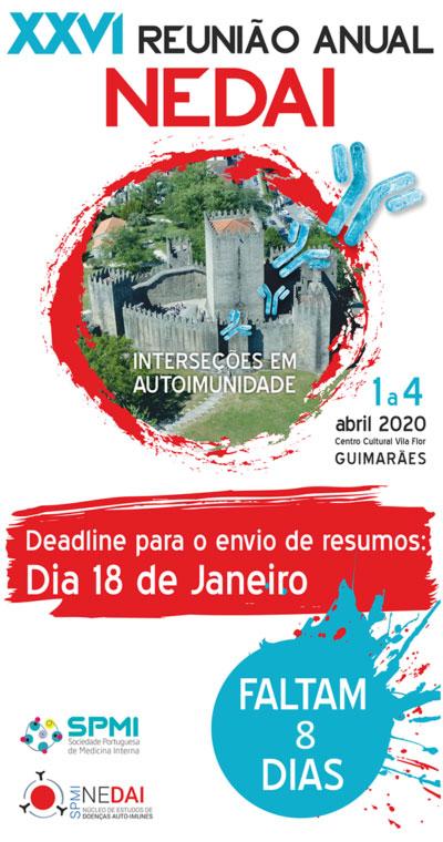 XXVI Reunião Anual do NEDAI 2020 - Resumos até 18 Janeiro
