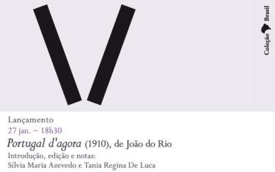 Lançamento | Portugal d'agora (1910), de João do Rio | 27 jan. | 18h30 | BNP