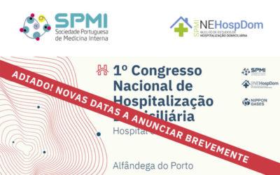 I Congresso Nacional de Hospitalização Domiciliária – Adiado