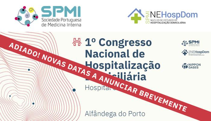 I Congresso Nacional de Hospitalização Domiciliária - Adiado