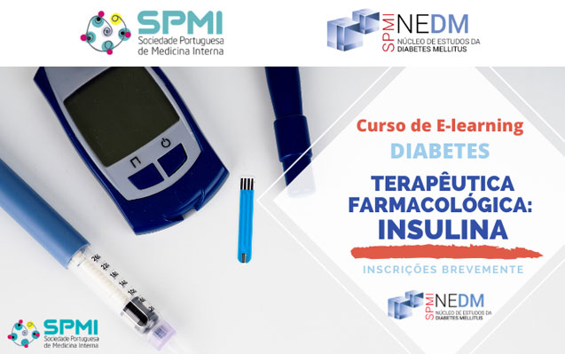 Curso de E-learning de Diabetes: Farmacológica Insulina – Inscrições Brevemente