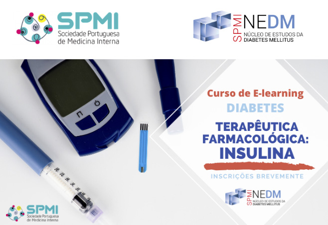 Curso de E-learning de Diabetes: Farmacológica Insulina - Inscrições Brevemente