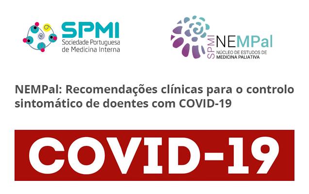 NEMPal: Recomendações clínicas para o controlo sintomático de doentes com COVID-19