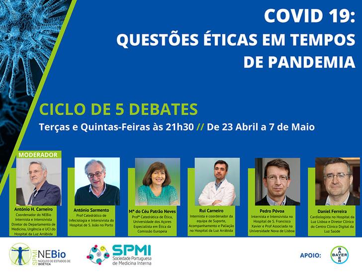 Debates Covid-19: Questões Éticas em tempos de Pandemia