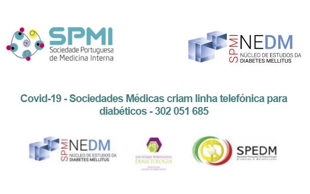Covid-19 – Sociedades Médicas criam linha telefónica para diabéticos