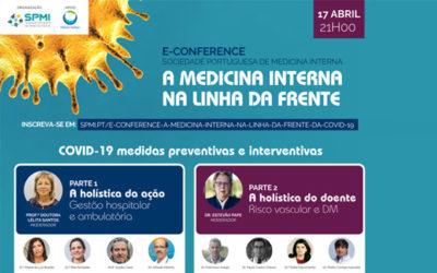 E-conference: A Medicina Interna na linha da frente da COVID-19