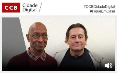 #CCBCidadeDigital | Viagens pelos livros com Afonso de Melo, Luís Cardoso e a bordo da «Odisseia» | Garagem Sul – O Mar É a Nossa Terra