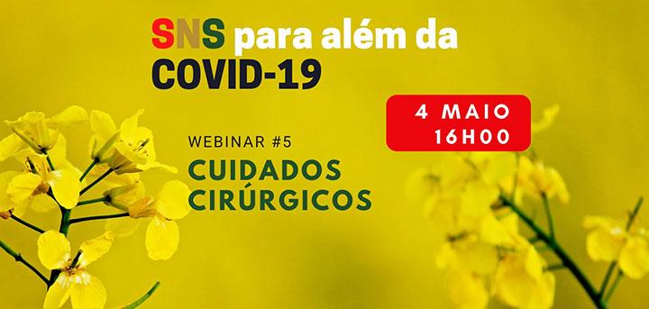 Conferência web sobre Cuidados Cirúrgicos