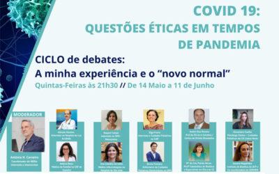 6º Debate: Questões éticas em tempo de pandemia pelo COVID 19