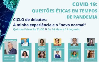 8º Debate – Questões éticas em tempo de pandemia pelo COVID-19