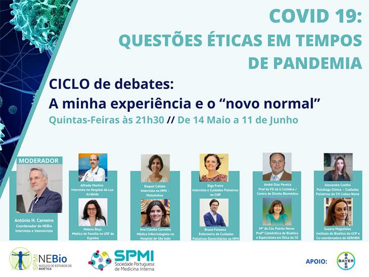8º Debate - Questões éticas em tempo de pandemia pelo COVID-19