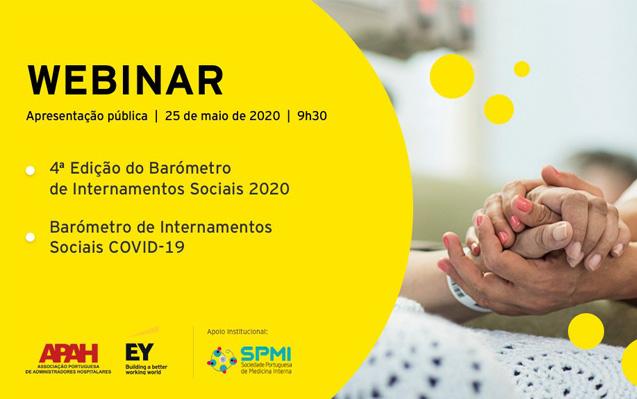 Webinar: Barómetro dos Internamentos Sociais 2020 & COVID19 – Apresentação Pública