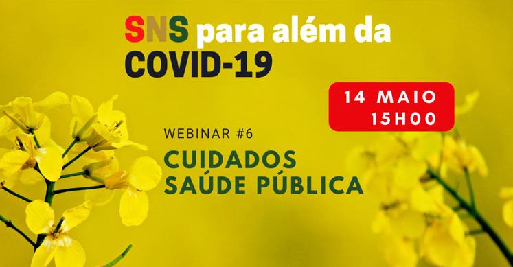 6.ª Conferência Web do Ciclo «SNS para além da Covid-19»