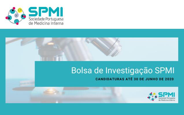 Bolsa de Investigação da SPMI - Candidaturas até 30 de Junho
