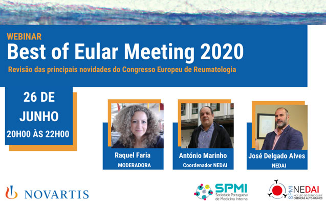 WEBinar: Best of Eular Meeting 2020 – hoje das 20h as 22h