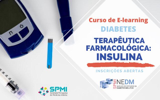 Curso de Elearning de Diabetes, Farmacológica – Insulina – Inscrições Abertas
