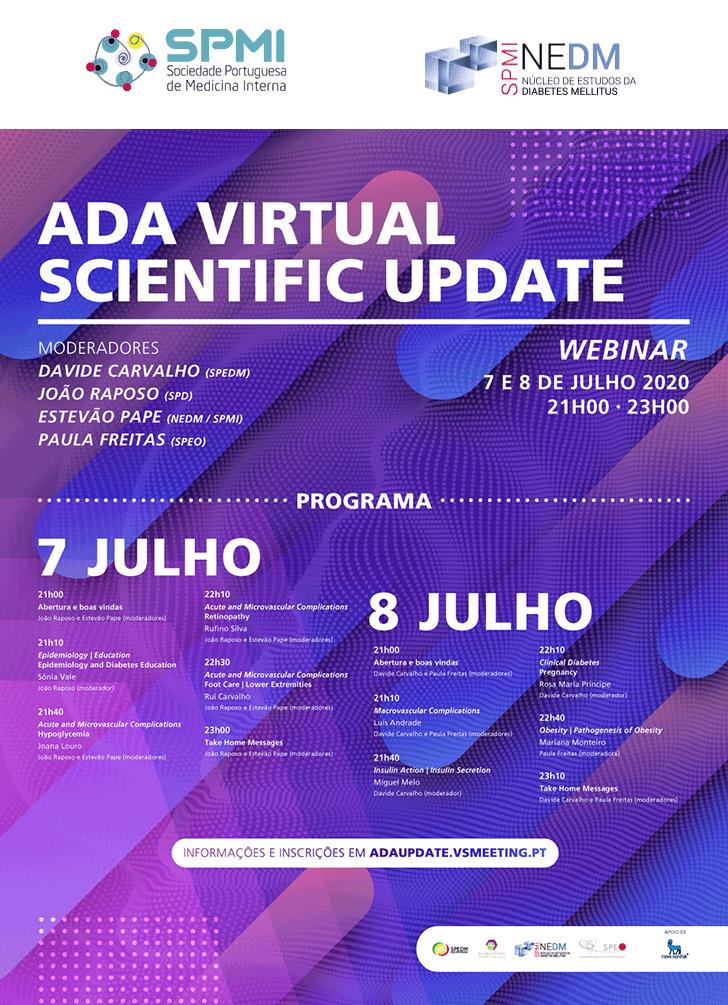 NEDM: ADA Virtual Scientific Update