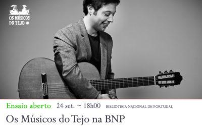 Ensaio Aberto | Os Músicos do Tejo na BNP | 24 set. | 18h00 | BNP