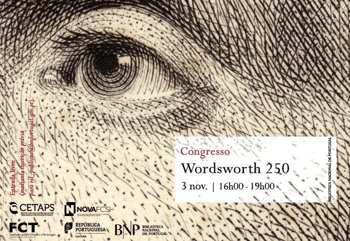 Congresso | Wordsworth 250 | 3 nov. | 16h00 | BNP