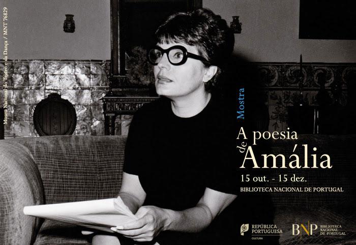 Mostra | A poesia de Amália | 15 out. - 15 dez. | BNP