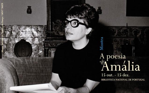 Mostra | A poesia de Amália | 15 out. – 15 dez. | BNP