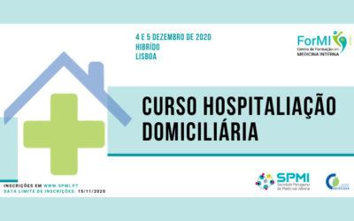 Curso de Hospitalização Domiciliária – Inscrições Abertas