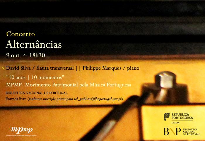 Concerto   Alternâncias   9 out.   18h30   BNP