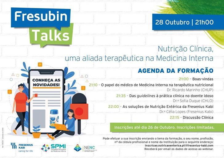 Webinar Nutrição Clínica, um aliada Terapêutica na Medicina Interna