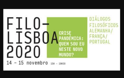 FILO-LISBOA 2020 – Crise Pandémica : quem sou eu neste novo mundo?
