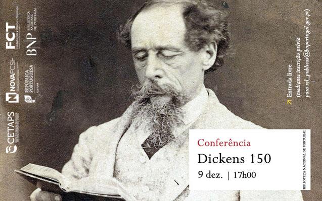 Conferência | Dickens 150 | 9 dez. | 17h00 | BNP