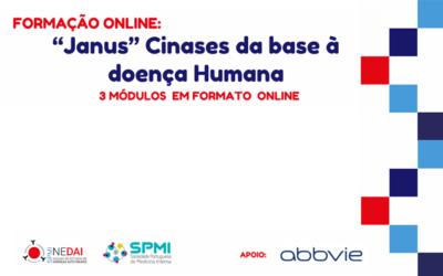 """Formação Online """"Janus"""" Cinases da base à doença Humana – 1º Módulo já amanhã"""