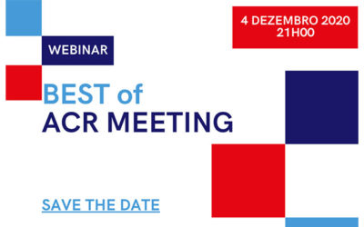 Webinar BEST of ACR MEETING – Inscrições Abertas