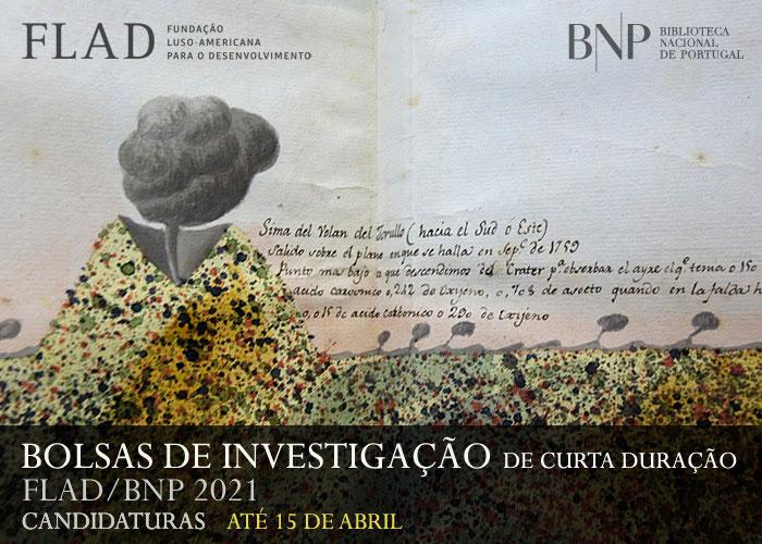 Bolsas de investigação FLAD/BNP 2021 | Candidaturas até 15 abril