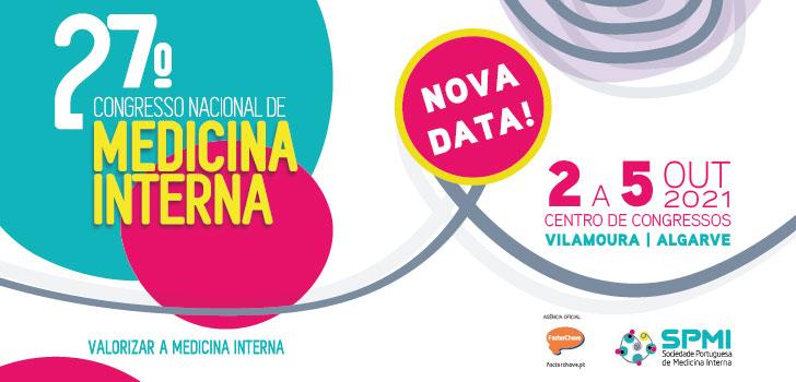 27º Congresso Nacional de Medicina Interna - Nova Data