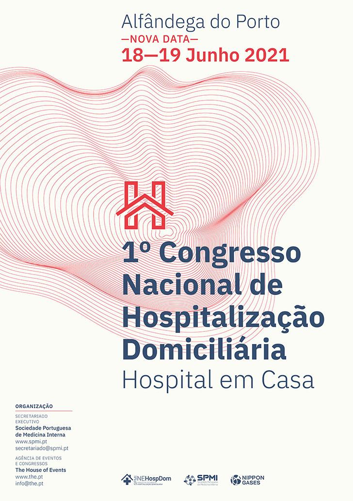 1º Congresso Nacional de Hospitalização Domiciliária - Inscrições Abertas