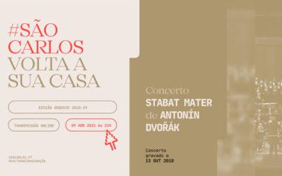 Assista online: Stabat Mater de Dvořák 9 ABR 21h . The Rape of Lucretia, 11 ABR 16h