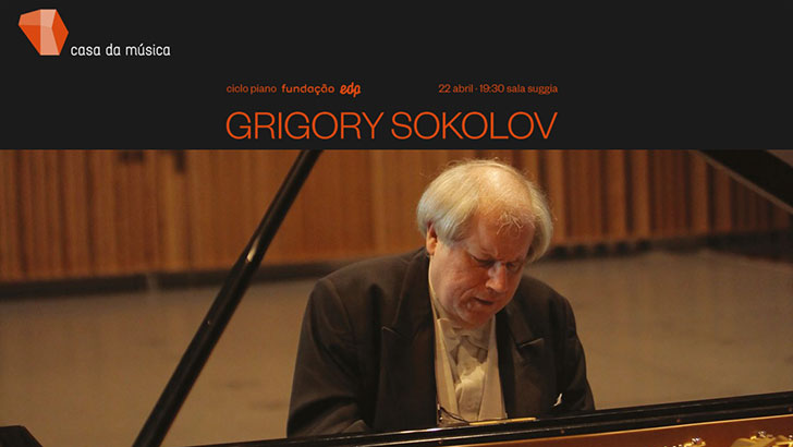Grigory Sokolov - ciclo piano Fundação EDP · 22 abril