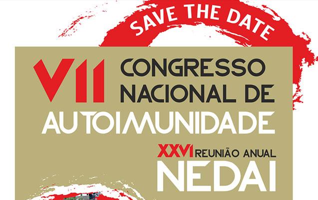 XXVI Reunião Anual do NEDAI / VII Congresso Nacional de Autoimunidade – Novo Prazo de Submissão de Trabalhos