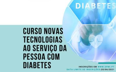 Curso Novas Tecnologias ao Serviço da Pessoa com Diabetes