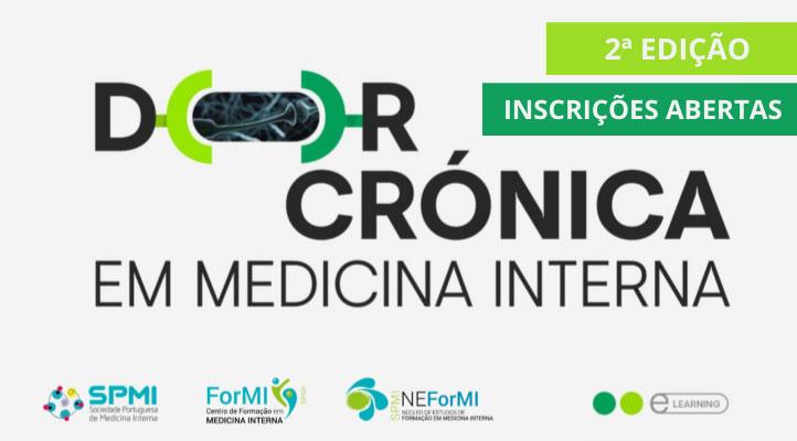2ª Edição E-learning Curso Dor Crónica - Ainda está a tempo de se inscrever