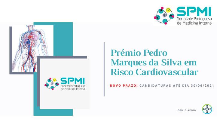 Prémio Pedro Marques da Silva em Risco Cardiovascular - Candidaturas até 30 de Junho