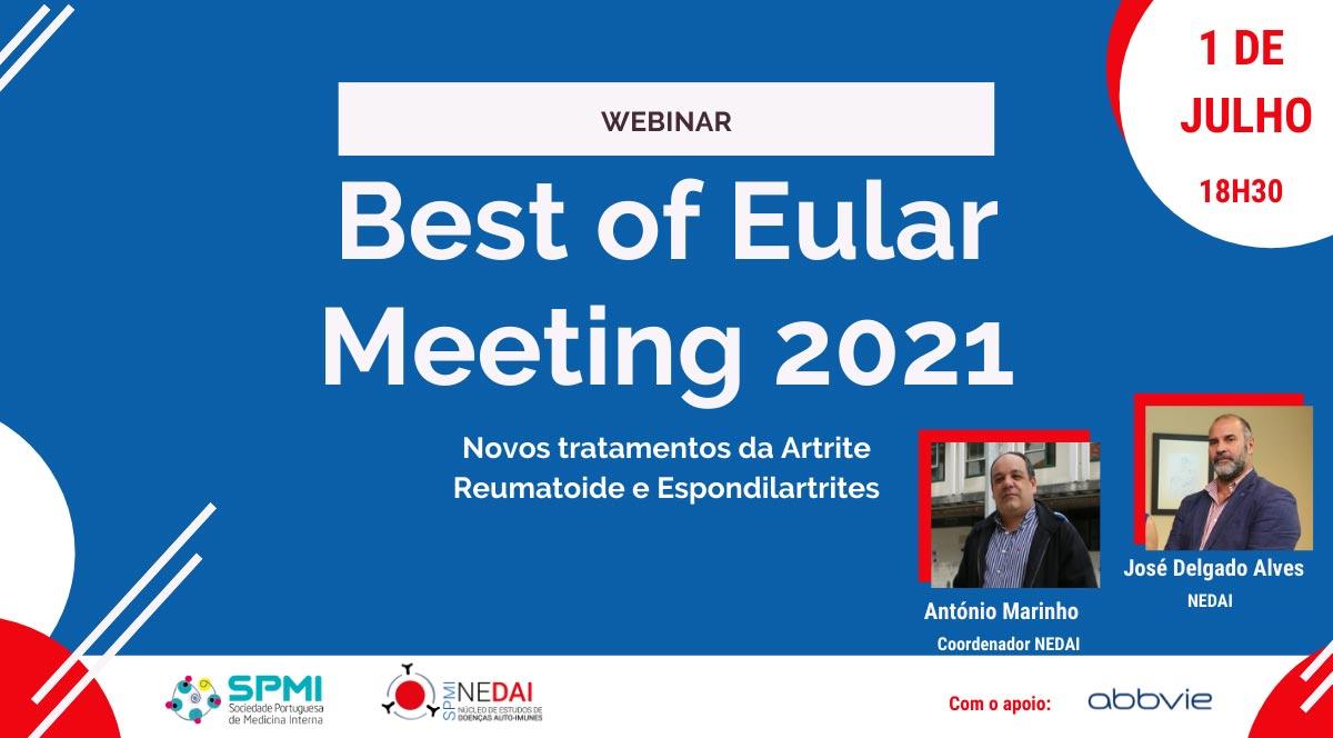 Webinar Best of Eular Meeting 2021 - Inscrições Abertas